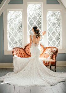 Bride in Grace Cottage