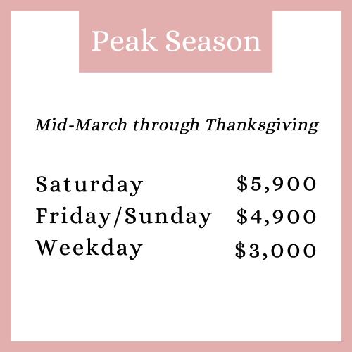 peak season RR